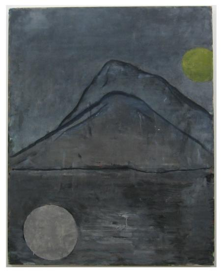 another mountain 2006, 227 x 180 cm 油彩、キャンバス